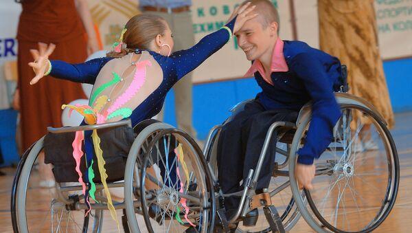 В Москве прошел чемпионат России 2007 по спортивным танцам на инвалидных колясках