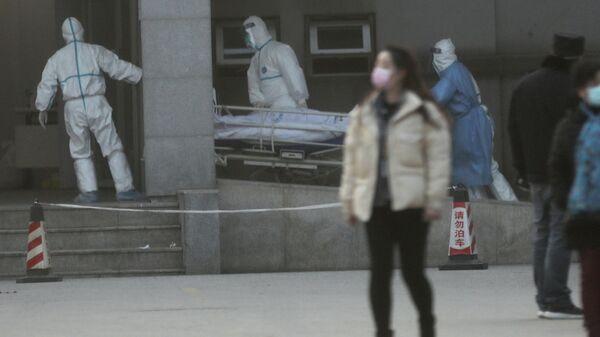 Больница Jinyintan Hospital в городе Ухань, КНР