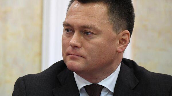 Игорь Краснов во время рассмотрения его кандидатуры на должность генерального прокурора в Совете Федерации