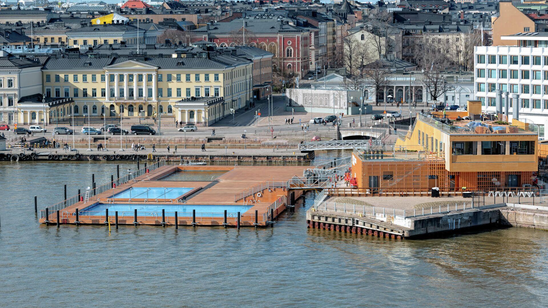 Морской бассейн в Хельсинки - РИА Новости, 1920, 26.01.2020