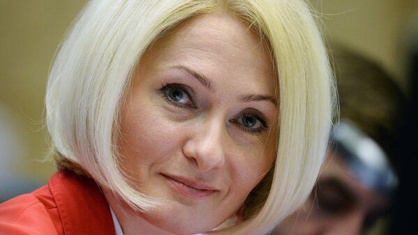 Заместитель министра экономического развития РФ, руководитель Федеральной службы государственной регистрации, кадастра и картографии  Виктория Абрамченко