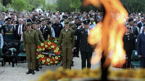 День памяти жертв Холокоста в Яд ва-Шем, Иерусалим
