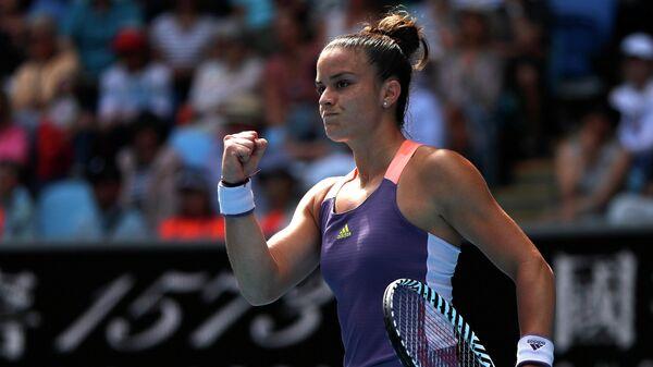 Греческая теннисистка Мария Саккари