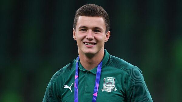 Футболист Иван Игнатьев