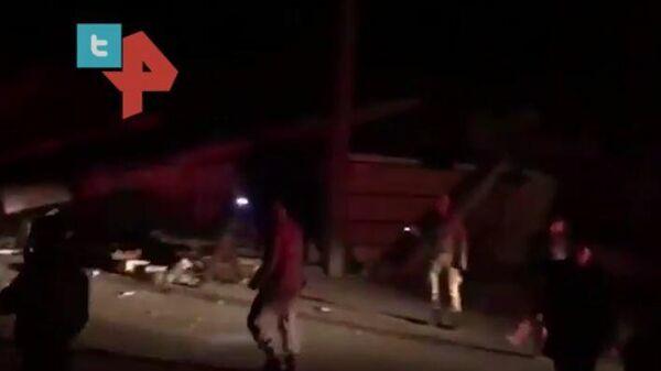 Видео последствий землетрясения в Турции
