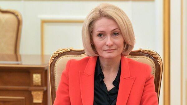 Заместитель председателя правительства РФ Виктория Абрамченко