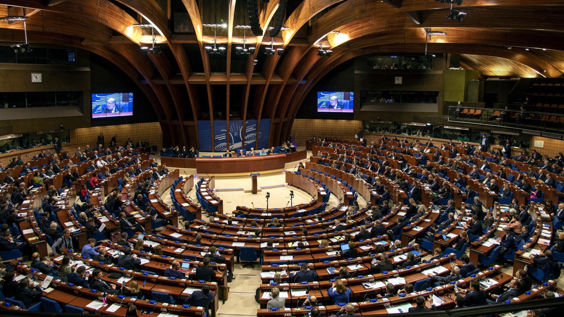 Заседание зимней сессии Парламентской ассамблеи Совета Европы - РИА Новости, 1920, 01.03.2021