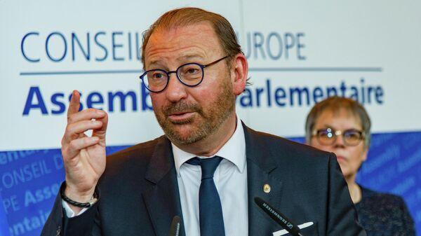 Избранный председатель Парламентской ассамблеи Совета Европы Хендрик Дамс