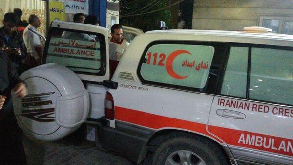 Автомобиль скорой помощи в Иране