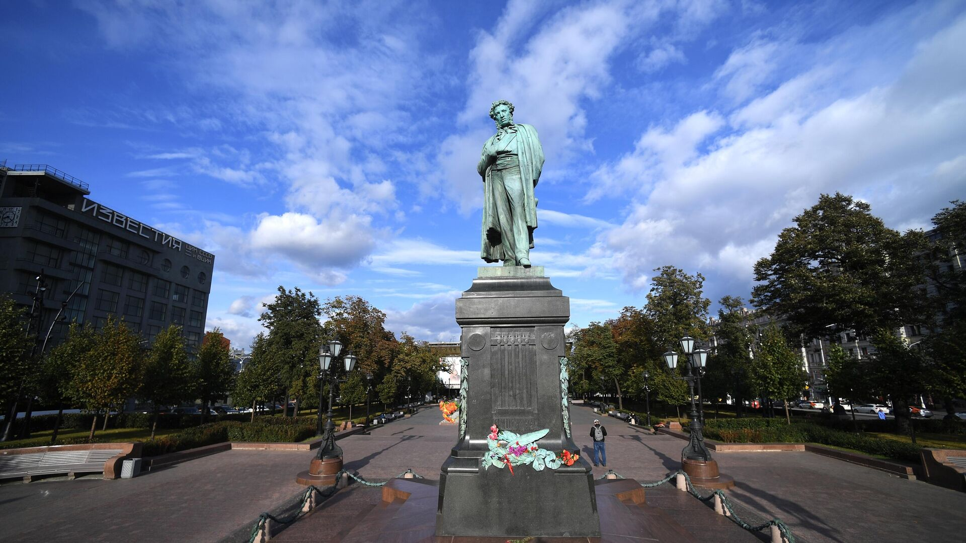 Памятник А. С. Пушкину на Пушкинской площади в Москве - РИА Новости, 1920, 20.11.2020