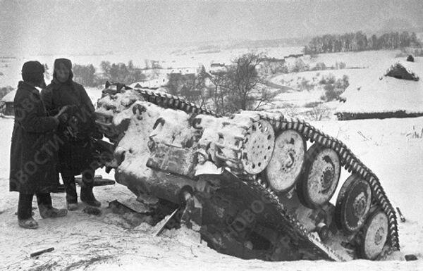 Разгром немецких танковых дивизий под Москвой