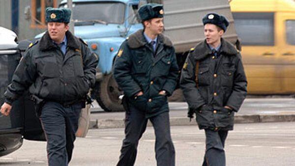 Сотрудники милиции