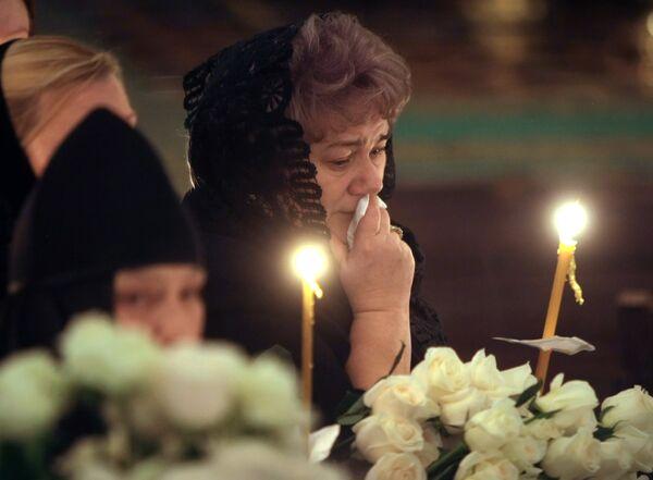 Церемония прощания с патриархом Московским и всея Руси Алексием II