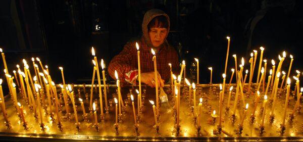Заупокойные богослужения по Алексию II прошли в храмах Кузбасса