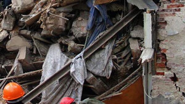Обрушение части жилого дома. Архив