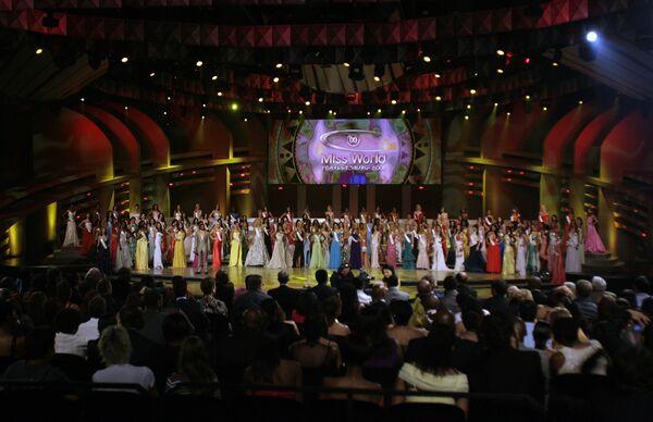 Международный конкурс красоты Мисс мира в Йоханнесбурге