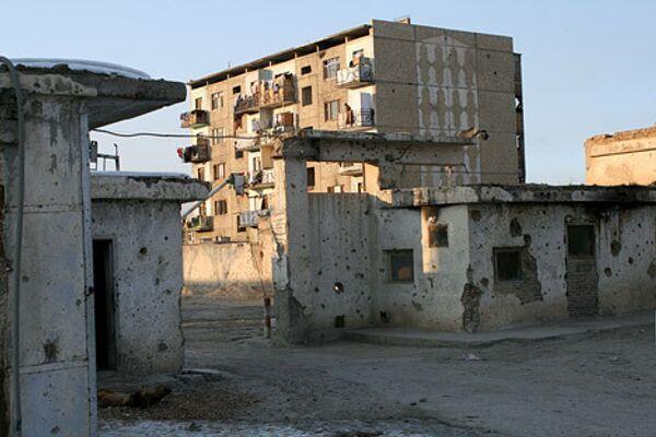 Территория посольства России в Кабуле, на которой проживают беженцы