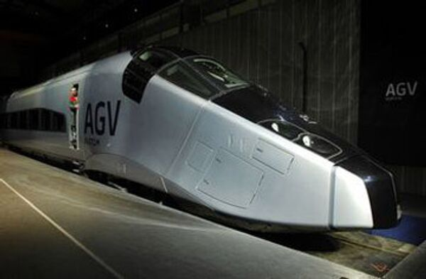 Скоростной поезд AGV