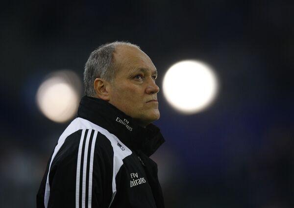 Голландский тренер Гамбурга Мартин Йол