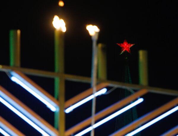 Еврейская молодежь в день Хануки установила новый рекорд