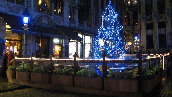 Брюссель готовится к Рождеству. Архивное фото