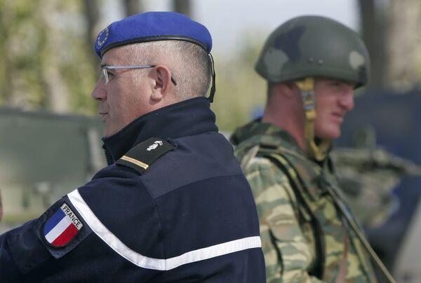 Зона безопасности в Грузии, наблюдатели ОБСЕ. Архив