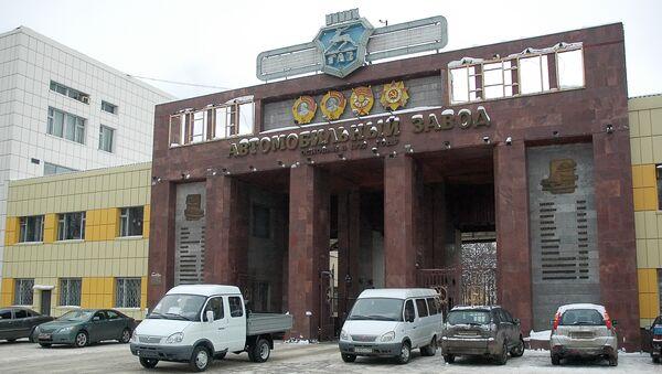 Горьковский автомобильный завод. Архивное фото