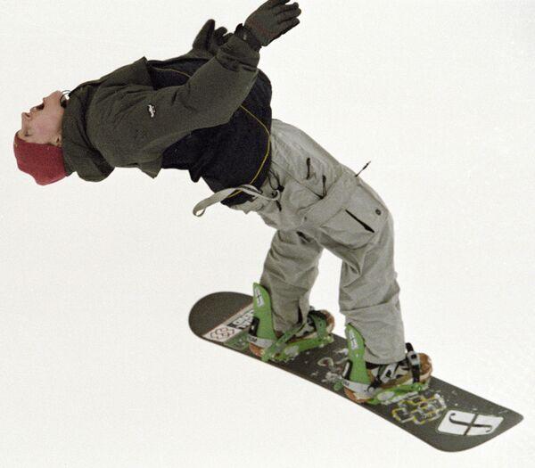 Соревнования по сноуборду. Архив
