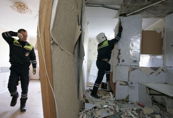 Взрыв газа в жилом доме. Архив