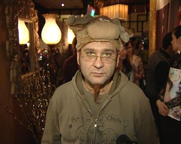 Пусть в 2009 году у вас не будет рогов, как у меня – Роман Трахтенберг
