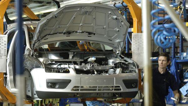 Сборка автомобилей марки Ford