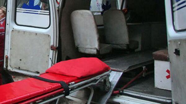 В четверг в Донецкой области загорелся рейсовый пассажирский автобус ЛАЗ. В автобусе находились 30 человек