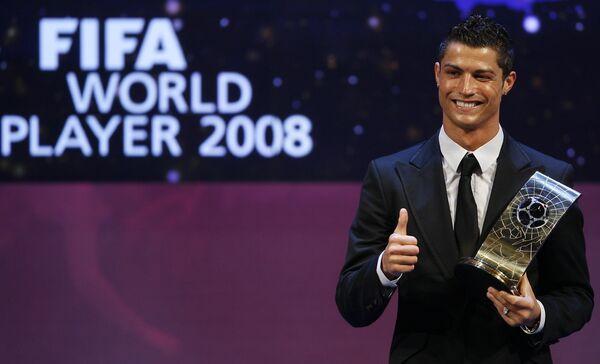 Лучший футболист 2008 года криштиану роналду