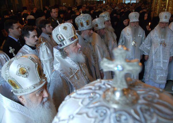 Божественная литургия. Архив