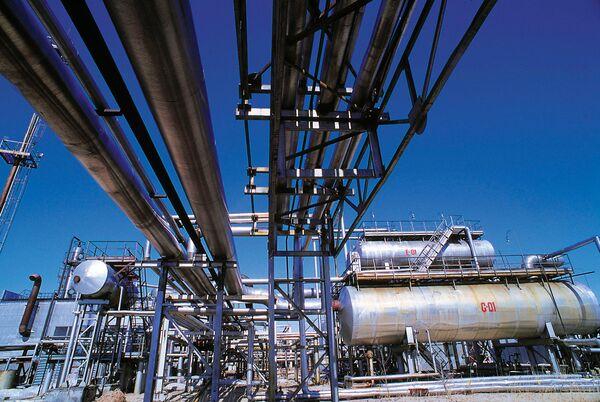 На газоперерабатывающем заводе А/О Сургутнефтегаз