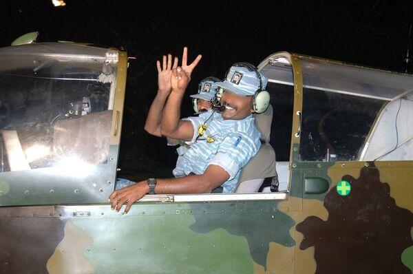 Боевики ТОТИ из подразделения Воздушные тигры