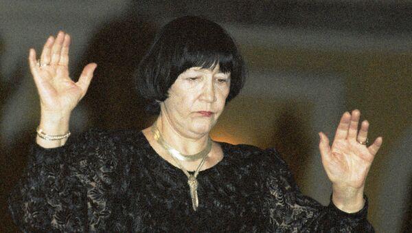 Дирижер Вероника Дударова