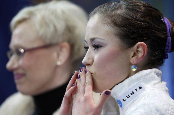 Финская фигуристка Лаура Леписто