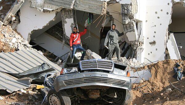 Разрушения в секторе Газа. Архив