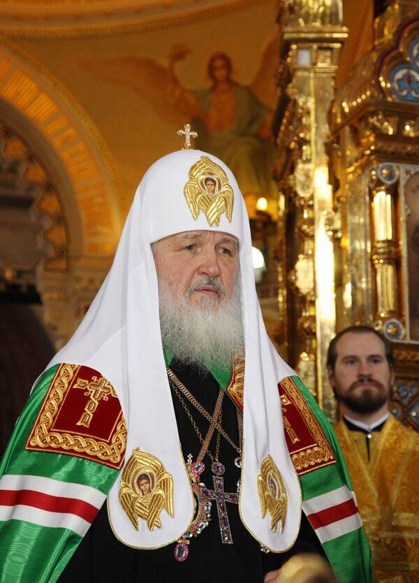 Патриарх призвал привлекать молодежь к решению проблем современности