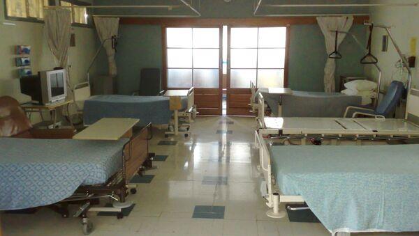 Больничная палата, архивное фото