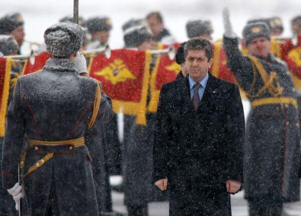 Визит президента Болгарии в Россию.