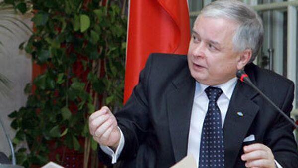 Президент Польши обещает ратифицировать Лиссабонский договор