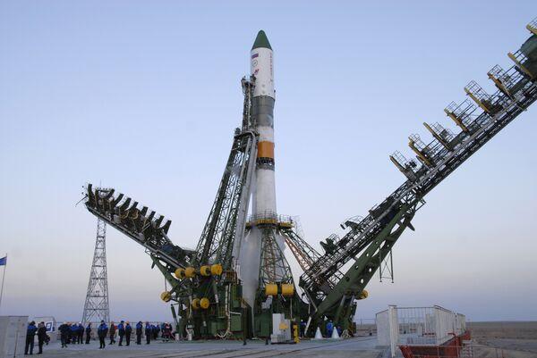 Космический грузовик Прогресс М-66 отправился к МКС