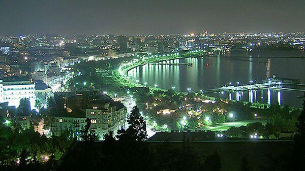 Вид  Азербайджана. Архивное фото