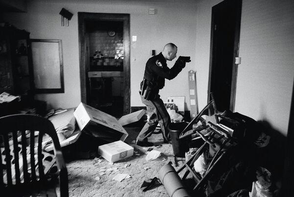 Фотограф Энтони Суо (Anthony Suau) выиграл награду World Press Photo 2008 с фотографией, посвященной экономическому кризису в США