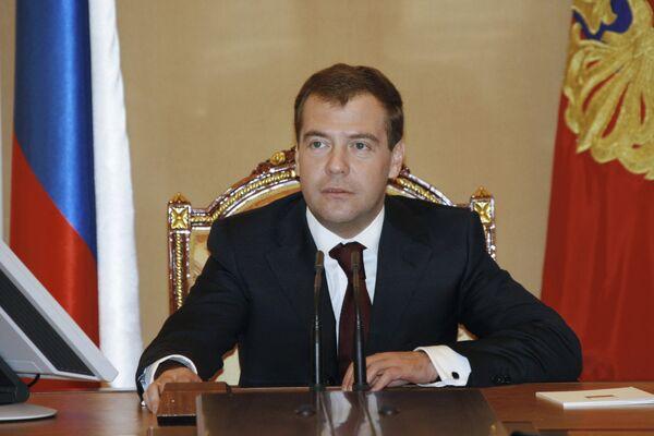 Президент России Дмитрий Медведев считает, что события в Южной Осетии показали необходимость выработать новые подходы к обеспечению международной безопасности
