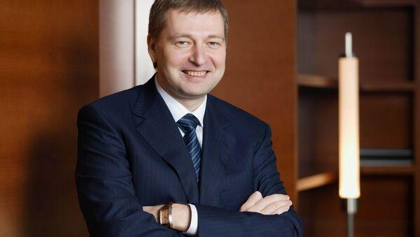 Председатель Совета директоров ОАО Уралкалий Дмитрий Рыболовлев. Архивное фото