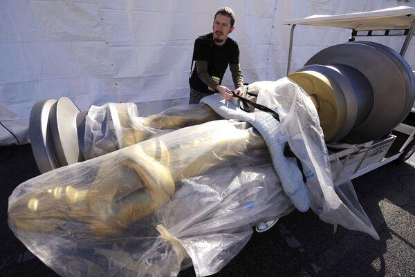 Подготовка к церемонии вручения премий Оскар в Лос-Анджелесе