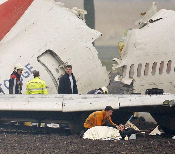 Авиакатастрофа Боинга-737 в Амстердаме